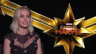 Captain Marvel Brie Larson Blackfilm com interview