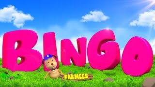 Bingo The Dog | Video For Children | Nursery Rhymes And Songs by Farmees