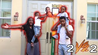 2 VS 2 Basketball Game Vs Panton Squad