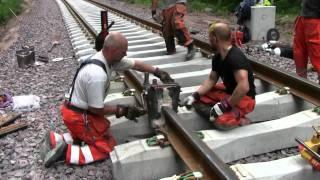 Railroad thermite welding