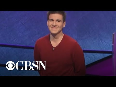 "Professional sports gambler James Holzhauer's ""Jeopardy!"" winning streak ends"