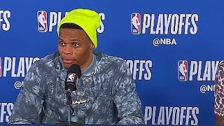 Russell Westbrook Savagely Disrespecting Reporter With 'Next Question'