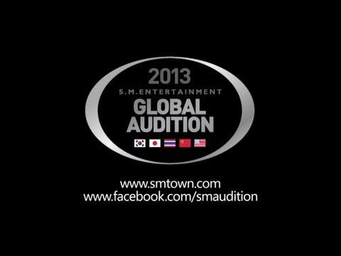[KOR, JPN, THA, CHN, USA] 2013 S.M. Global Audition_Updated