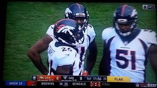 NFL week 12: Denver Broncos @ Oakland Raiders Talib vs. Crabtree fight!