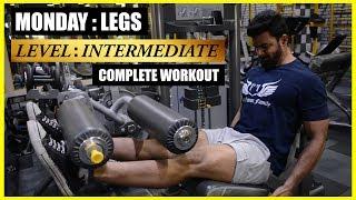 Complete Leg Workout   Intermediate Workout Routine