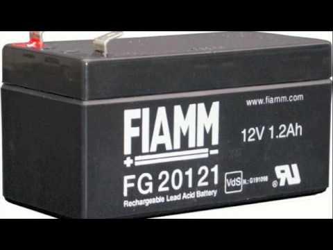 Fiamm Sealed Lead Acid Battery