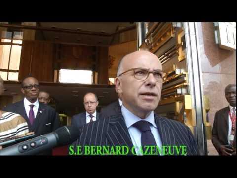 AUDIENCE DE S.E PAUL BIYA AU MINISTRE FRANCAIS DE L'INTERIEUR