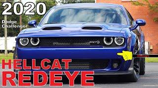 2020 Dodge Challenger SRT Hellcat Redeye Widebody - Ultimate In-Depth Look in 4K