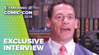John Cena & the Cast of 'Bumblebee' Comic-Con 2018 Full Interview