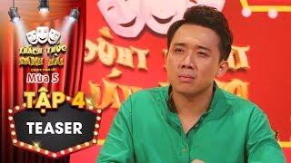 Thách thức danh hài 5|Teaser tập 4:Trấn Thành bất ngờ cúi đầu xin lỗi khán giả, chuyện gì đã xảy ra?
