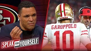 Jimmy G and Kyle Shanahan are 'Starsky and Hutch… It's a great match!' | NFL | SPEAK FOR YOURSELF