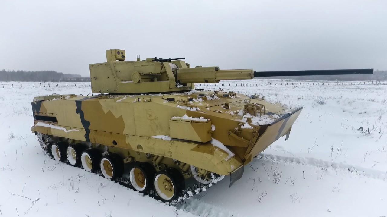 Новейший боевой модуль АУ-220М