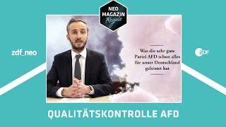 Was die sehr gute Partei AfD schon alles für Deutschland geleistet hat | NEO MAGAZIN ROYALE ZDFneo