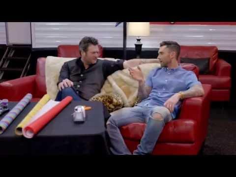 the voice usa - Blake and Adam   presentes