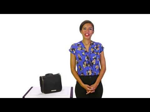 Brahmin Tessa Travel Kit Video