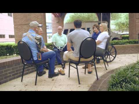Amputee Rehabilitation Series: Video #3 – A Community of Peers