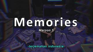 Maroon 5 - Memories 'Lirik Terjemahan Indonesia' (Lyrics Video)