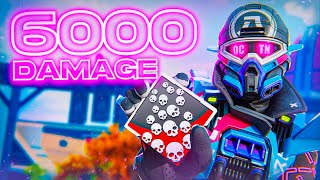 Is 6000 Damage Possible With OCTANE? | 20 Kill Game Apex Legends Season 8