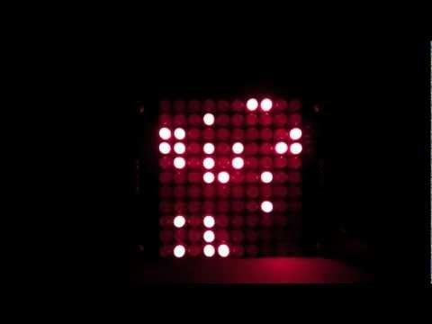 LifeClock: A clock that plays Life