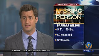 Silver Alert issued for missing 60-year-old Statesville woman