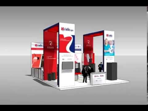 Showroom Riello UPS at Hannover Messe 2014