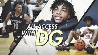 """McDonald's All American Life With Darius Garland! Zion Williamson Calls Him """"The People's Champ!"""""""
