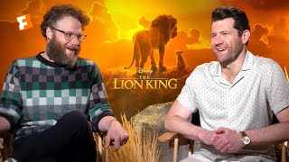 """Seth Rogen & Billy Eichner """"Hated"""" Singing with Donald Glover in 'The Lion King'"""