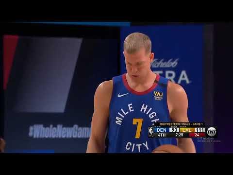 2020/09/19 NBA 湖人VS金塊 G1