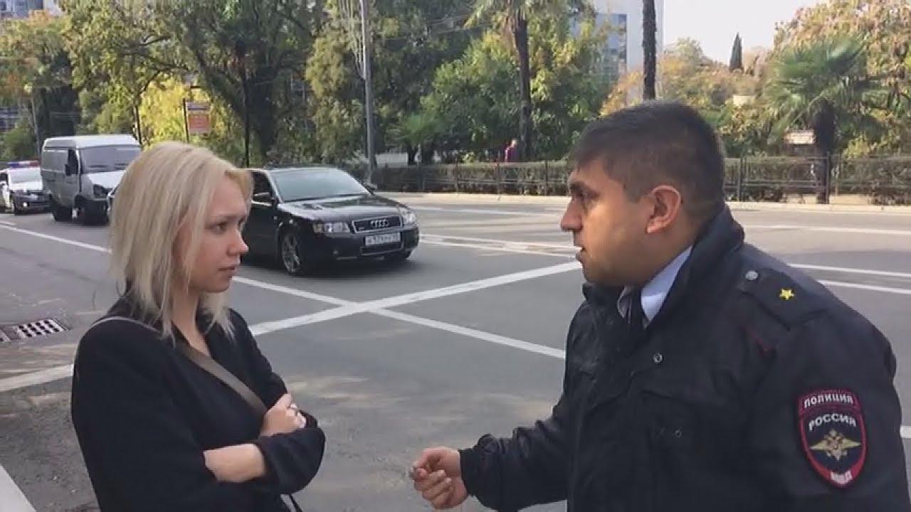 Полиция Сочи преследует сторонников Навального