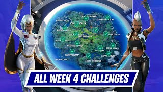 All Week 4 Challenges Guide in Fortnite - How to complete Season 4 Week 4 Challenges