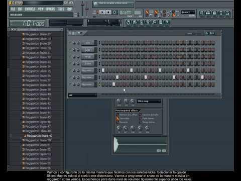 Tutorial FL Studio 8 como hacer un Dembow-Clase  1