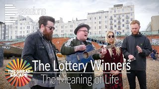 The Lottery Winners - 'The Meaning Of Life' Brighton Beach live unplugged session