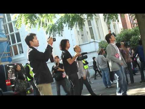 SHINee at Abbey Road Studios, London [19.06.11]