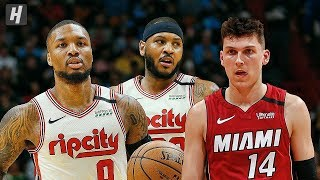 Portland Trail Blazers vs Miami Heat - Full Game Highlights | January 5, 2020 | 2019-20 NBA Season