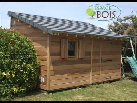abris de jardin en bois youtube. Black Bedroom Furniture Sets. Home Design Ideas