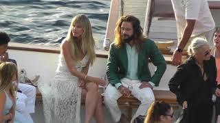 Heidi Klum e Tom Kaulitz: wedding a Capri (prima giornata - first day)