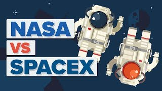 NASA vs SpaceX - What's The Difference?