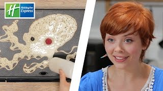Real Artists Try Pancake Art