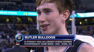 Stevens and Hayward on Butler's Final Four Win