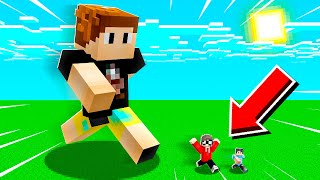 Minecraft But EVERYBODY Is BIG or SMALL!
