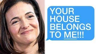 """r/Choosingbeggars """"YOUR HOUSE BELONGS TO ME!"""""""
