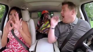 Michelle Obama rapping with Missy Elliott