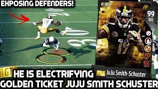 JUJU SMITH-SCHUSTER IS ELECTRIFYING! WE GET 2 GOLDEN TICKETS Madden 18 Ultimate Team