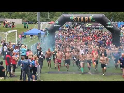 SUPERHERO SCRAMBLE NEW ENGLAND CHARGER 2013 - Official Video