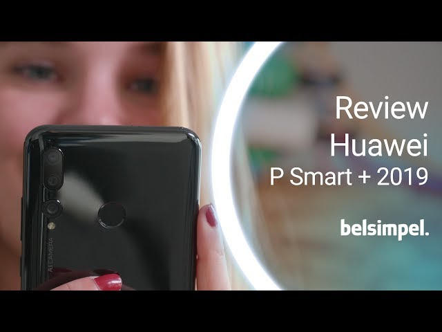 Belsimpel-productvideo voor de Huawei P Smart+ (2019) Black