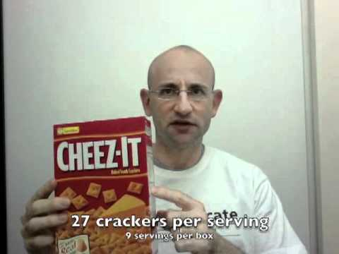 The Fooducate Show - Episode 2 - Cheez-It