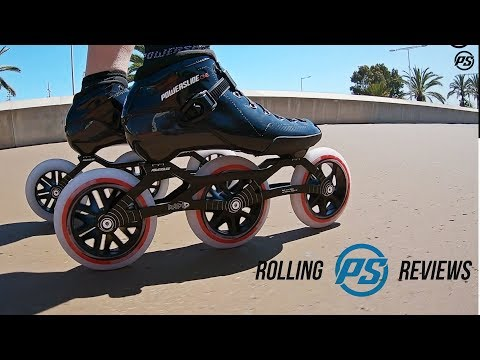 Video POWERSLIDE PS One 12.8 125mm speed roller