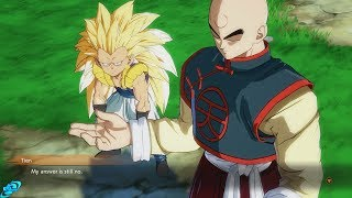 DRAGON BALL FIGHTERZ Gotenks Thinks Tien is Cool