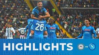 HIGHLIGHTS | Udinese - Napoli 0-4 | Serie A - 4ª giornata