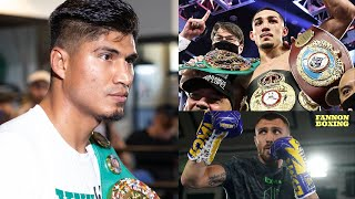 "VASYL LOMACHENKO BLASTED BY MIKEY GARCIA SAYS LOMA BEAT ONLY ""SMALL, WEAKER"" MEN !; SO HAS TEOFIMO!?"